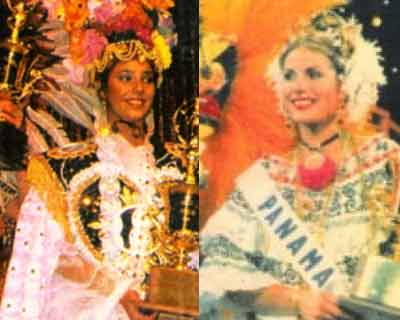 Countries with most national costume awards at Miss Universe