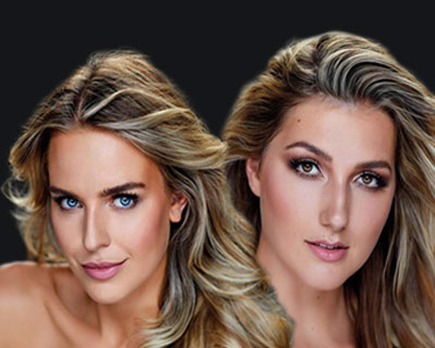 Our favorites from official headshots of Miss Nederland 2020