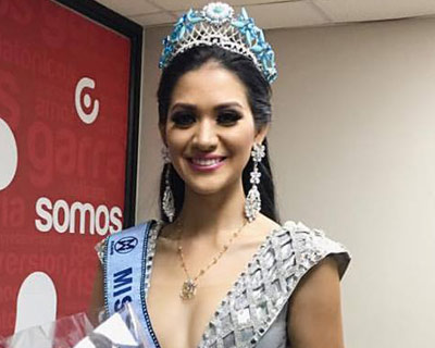 Mirka Cabrera Mazzini is Miss World Ecuador 2016