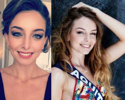 Axelle Bonnemaison crowned as Miss Aquitaine 2016 for Miss France 2017