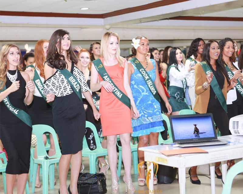 Miss Earth 2017 kicks off with a welcome dinner party