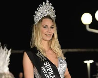 Helena Krnetić crowned Miss Supranational Croatia 2019
