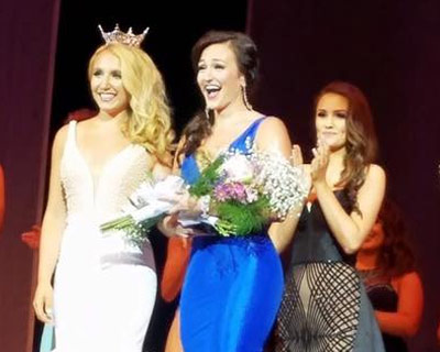 Jillian Zucco crowned as Miss Massachusetts 2017 for Miss America 2018