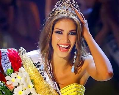 Dayana Mendoza celebrates her twelve- year crown anniversary as Miss Universe 2008
