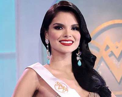 Alejandra Conde crowned Miss World Venezuela 2020