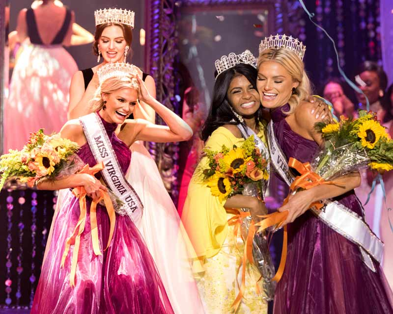 Ashley Vollrath crowned Miss Virginia USA 2018 for Miss USA 2018