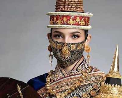 Laos' Christina Lasasimma reveals her national costume for Miss Universe 2020