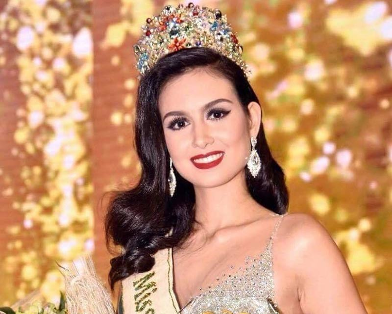 Silvia Celeste Cortesi crowned Miss Philippines Earth 2018