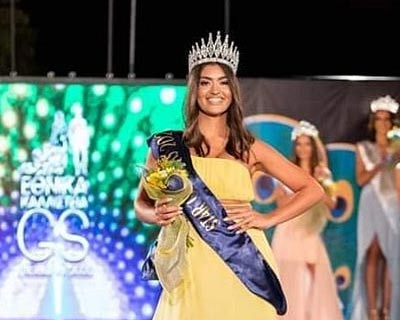 Katerina Psichou crowned Miss Earth Greece 2021