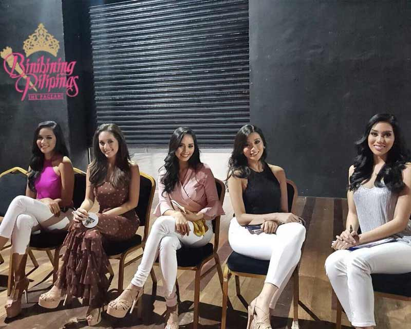 Binibining Pilipinas 2018 all set to impress all in their official web interviews