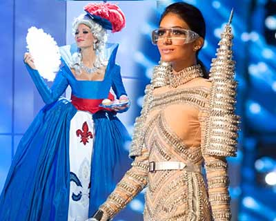 Best National Costumes from Miss Universe through the decade