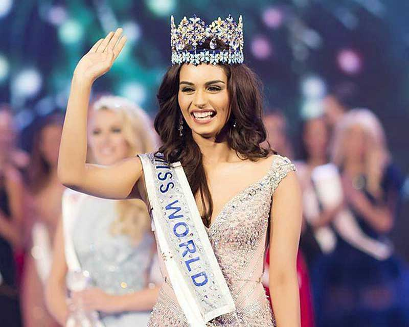 India congratulates Miss World 2017 Manushi Chhillar