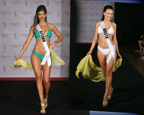 Miss Universe Malta 2017 finalists exude magnetism in stunning swimwear