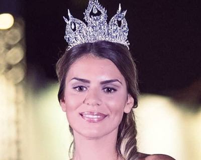 Sanja Lovcevic is the new Miss Serbia 2019