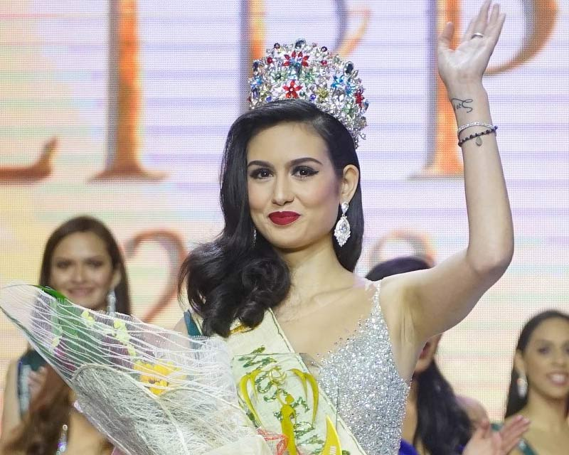 Silvia Celeste Cortesi is Miss Philippines Earth 2018 due to her mother