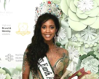 Emerlinda Martins crowned as Miss Earth Angola 2017
