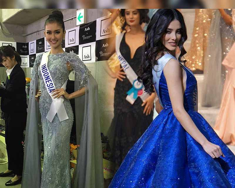 Our Top 5 of Evening Gown Round in Miss International 2017