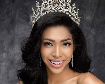 Hmwe Thet rising as a potential winner of Miss Universe Myanmar 2019