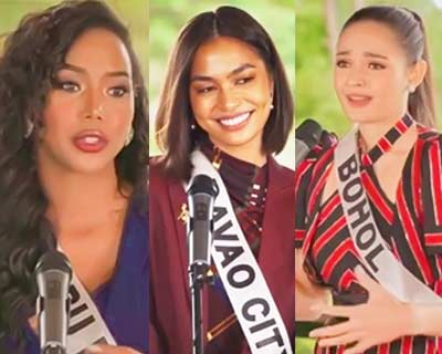 Our favourites from Preliminary Interview of Miss Universe Philippines 2020