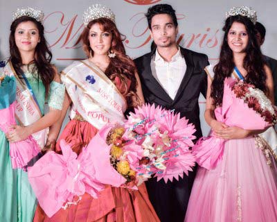 Ishika Taneja crowned as Miss Tourism India 2016-17