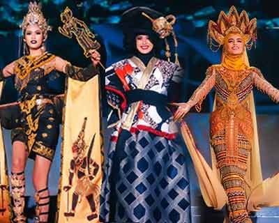 Miss Grand International 2019 Top 10 Best in National Costume Winners