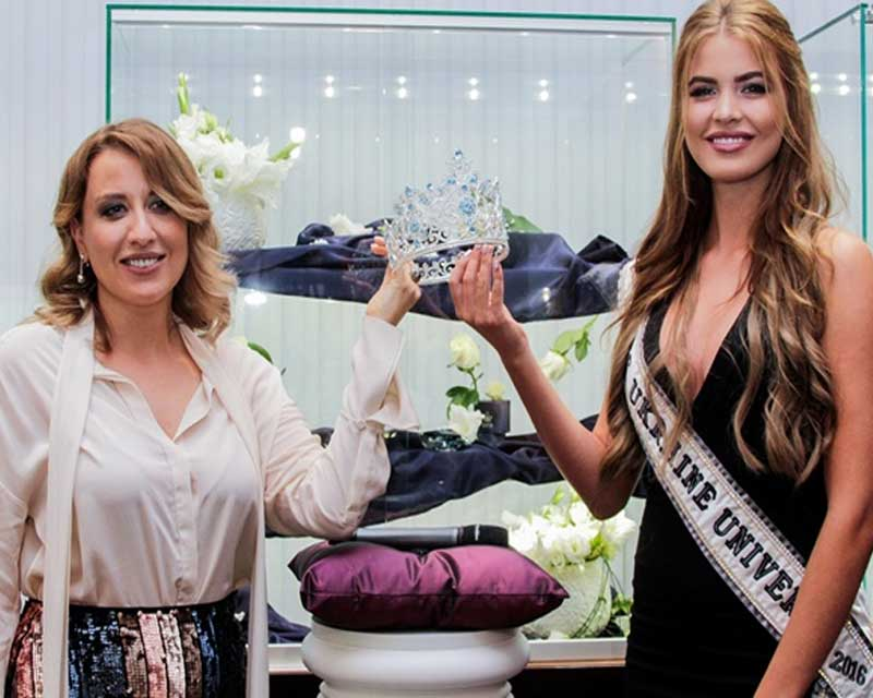Miss Ukraine Universe 2017 unveils its new crown