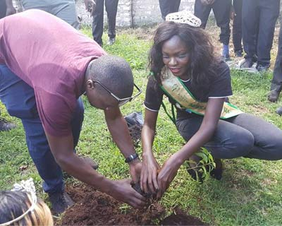 Miss Earth Uganda 2016 celebrates Earth Day in advance through Environmental activities