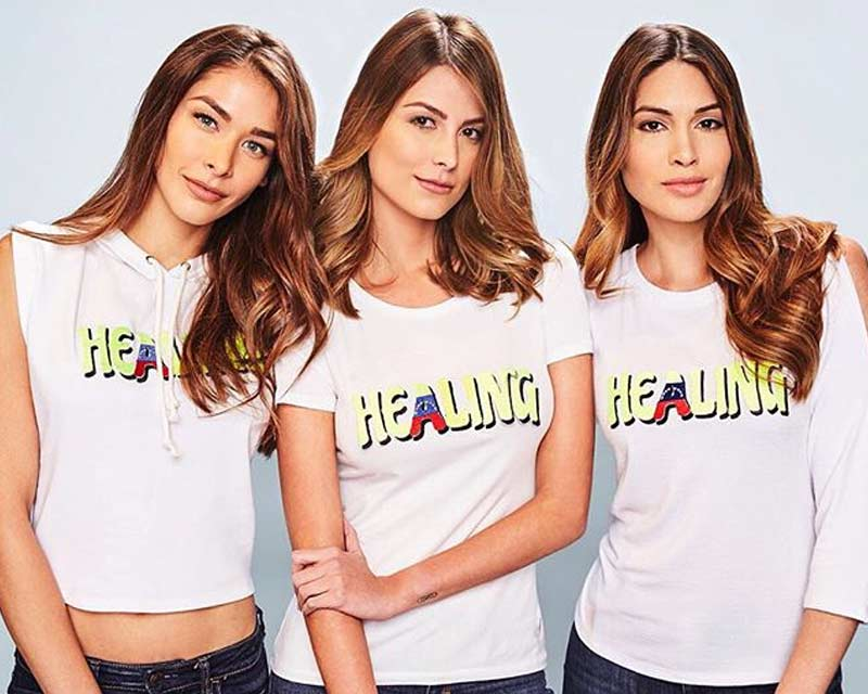 Former Miss Universe Winners from Venezuela unite for the noble initiative of Aid for Aids