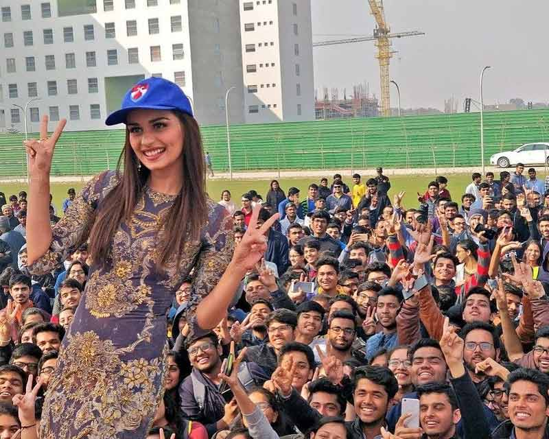 'Don't give up on your dreams' – Manushi Chhillar