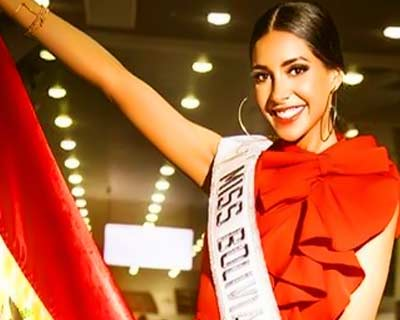 Miss Universe Bolivia 2019 Fabiana Hurtado Tarrazona to depart for Miss Universe 2019