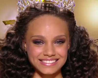 Alicia Aylies Miss Guyane 2016 crowned as Miss France 2017