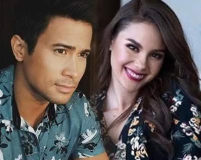 Former Miss Universe Catriona Gray and actor Sam Milby reveal relationship officially