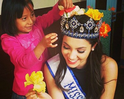 Madeline Cowe and Melanie Espina Luna busy with Beauty with a Purpose projects