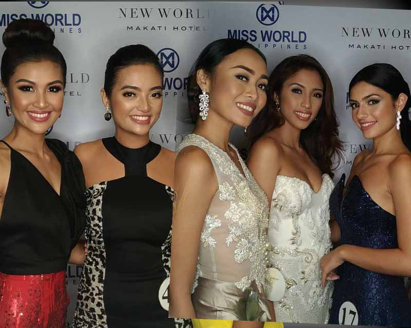 Miss World Philippines 2017 Schedule of Activities