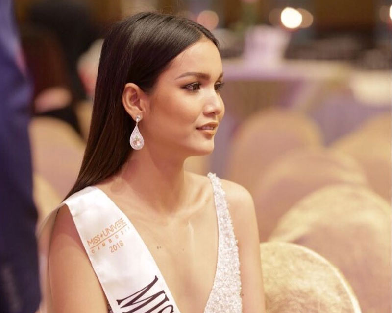 Rern Sinat appointed Miss Universe Cambodia 2018