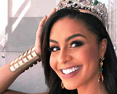 The first ever Puerto Rican Miss Earth Nellys Pimentel receives grand recognition