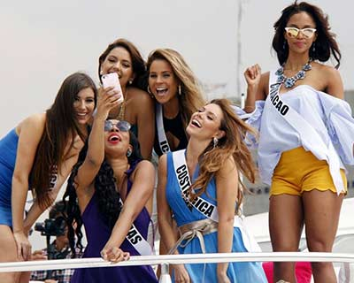 Miss Universe 2016 contestants enjoy sunset party in Batangas