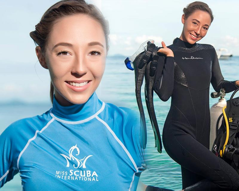 Brittany Anne Novick of USA crowned Miss Scuba International 2017