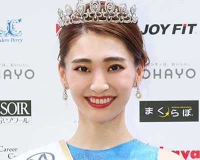 Maria Kaneya crowned Miss World Japan 2020