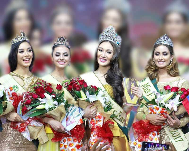 The infamous Question & Answer round of Miss Earth 2017