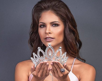 Meet Ingrid Vieira Moraes Miss Sergipe 2019 for Miss Universe Brazil 2019