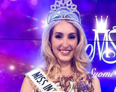 Anna Merimaa crowned Miss International Finland 2020