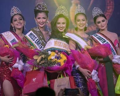Patricia Mae Hoffman crowned Miss Earth Philippines Southern Mindanao 2019