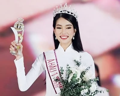 Phuong Anh Ngoc Pham crowned Miss International Vietnam 2020