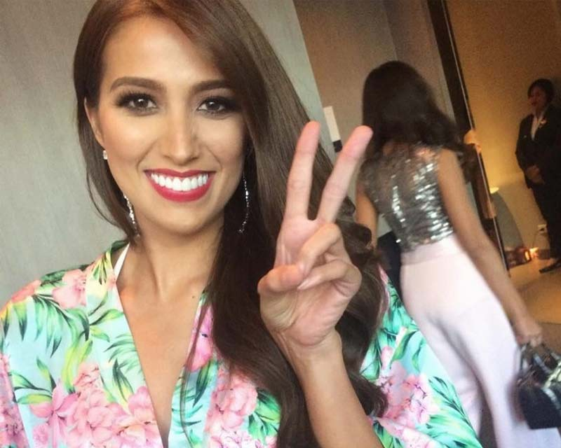 Rachel Peters, a judge at the final screening of Binibining Pilipinas 2018
