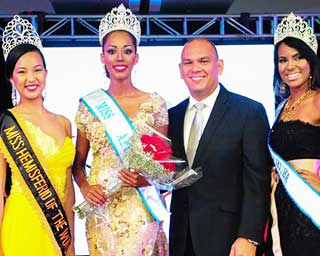 Miss Aruba 2014 winner is Digene Zimmerman
