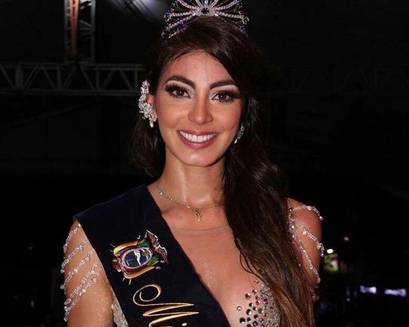 Virginia Limongi crowned Miss Ecuador 2018
