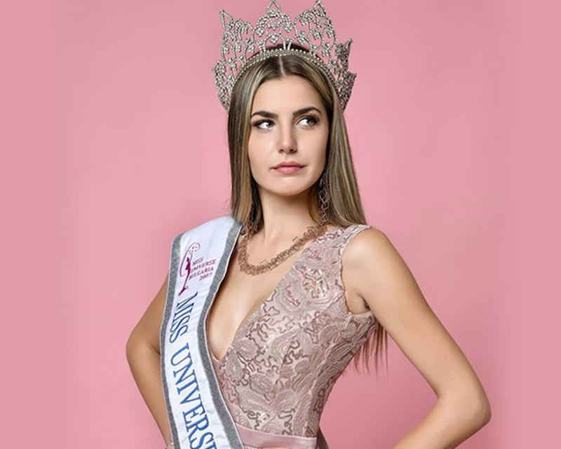 Nikoleta Todorova replaces Mira Simeonova as Miss Universe Bulgaria 2017