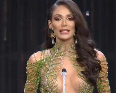 Lala Guedes of Brazil wins Best in Swimsuit award at Miss Grand International 2020