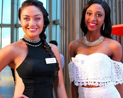 Miss World 2018 delegates attend Welcome Reception